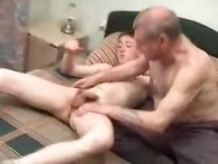 STEPDADDY FUCKING STEPSON AGAIN