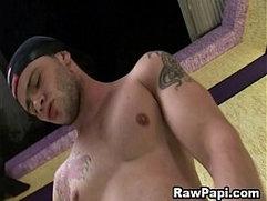 Gorgeous Latino Gay Bareback