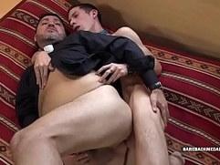 Daryl Barebacks His Daddy Priest