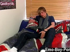 Twink video Brent Daley is a ultra cute blonde emo dude one of