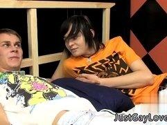 Sleep teen boy massage gay twink Seth completely predominates Miles