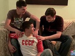 TwinkBoyMedia Three young boys exploring their asses
