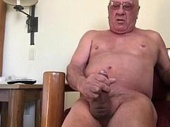 Grandpa Masturbating in Idaho