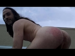 spank my naked ass in public finger fucking my man pussy
