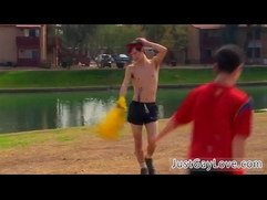 Emo gay porn video free vid Soccer dudes Jasper and Phillip dont keep