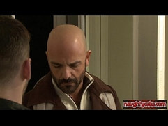 Horny stepfather extreme throat fuck
