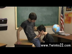 Gay movie of The ultra-cute dudes were told by their teacher to make