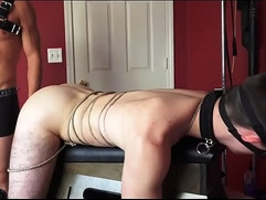 BDSM Zach Taylor All tied up