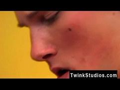 Tin age gay boys porno It's a classic porno scene: a hot pizza