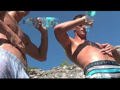 Mercury Twins Outdoor Sparring and Jerking