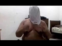 Gordo punheteiro vagina artificial