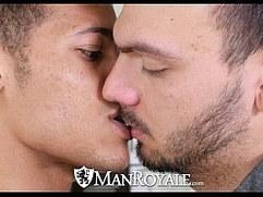 ManRoyale Jason Maddox Pounds Horny Bottom Kevin Blaise