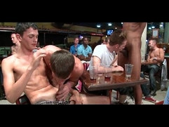 Huge group gets crazy in the club by CockSausage
