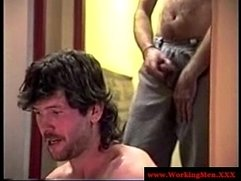 Redneck straight bears sucking my cock