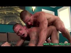 Pornstar hunk Marcus Mojo ass fuck action