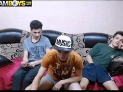 3 Sexy Str8 Romanian Boys